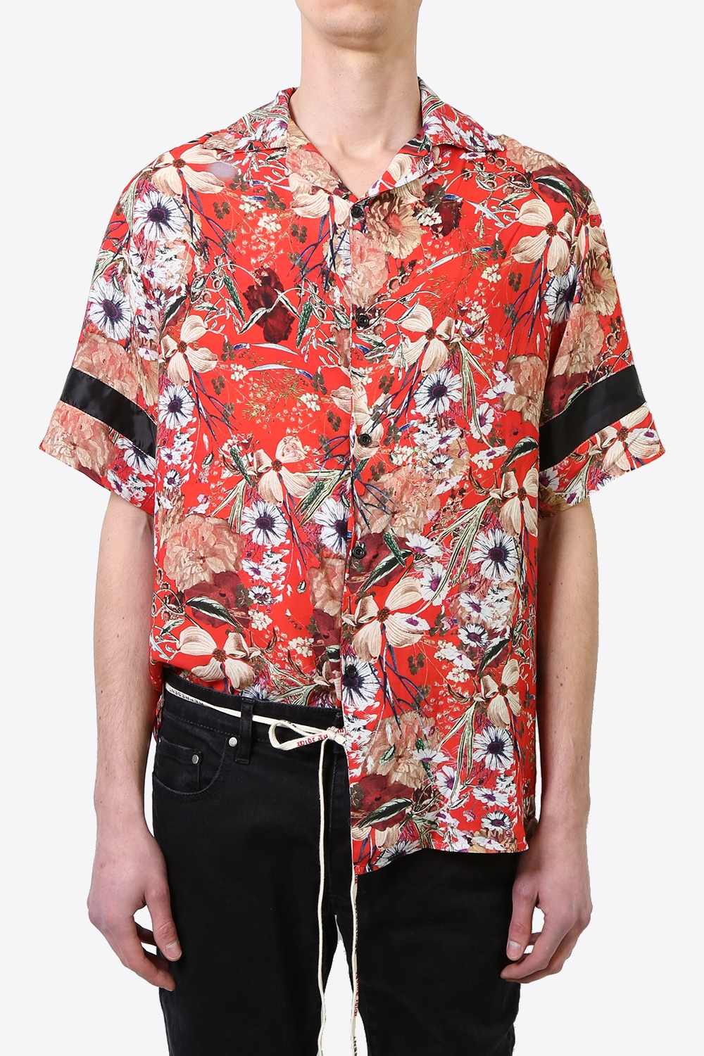 Shirt - Red Floral 1869