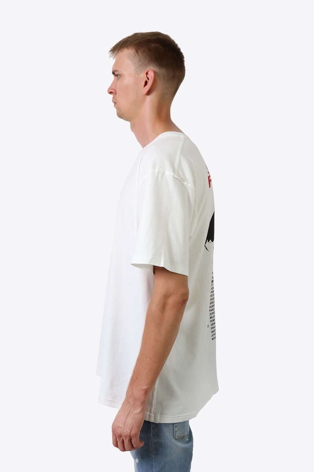 Stand Firm Tour T-shirt - White