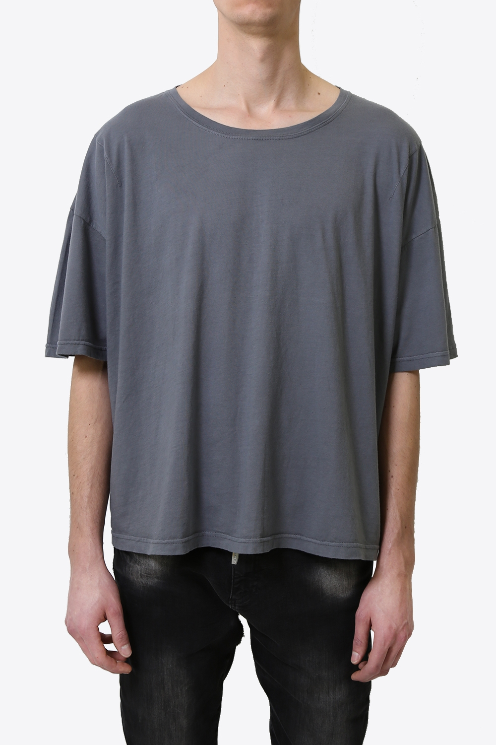 ESSENTIAL GREY LOOSE TEE 861